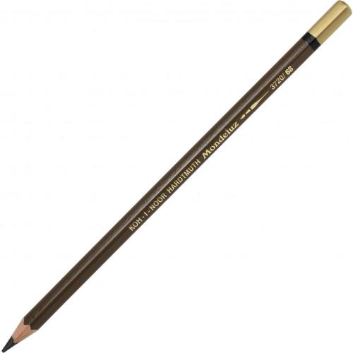 Олівець кольоровий акварельний Koh-i-noor Mondeluz burnt umber/умбра палена №3720/68