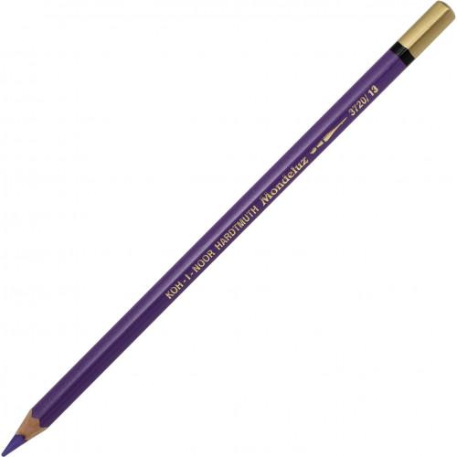 Олівець кольоровий акварельний Koh-i-noor Mondeluz valender violer/лавандовий №3720/13