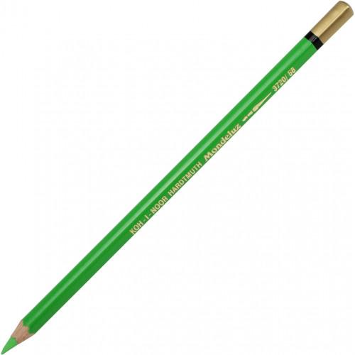 Олівець кольоровий акварельний Koh-i-noor Mondeluz light green/світло-зелений 3720/58