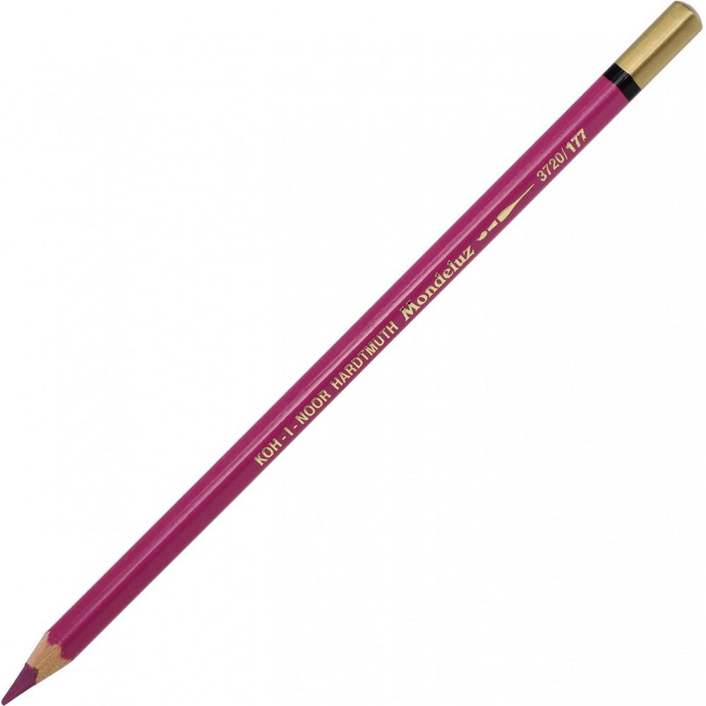 Карандаш цветной акварельный Koh-i-noor Mondeluz lilac violet/лиловый фиолетовый 3720/177