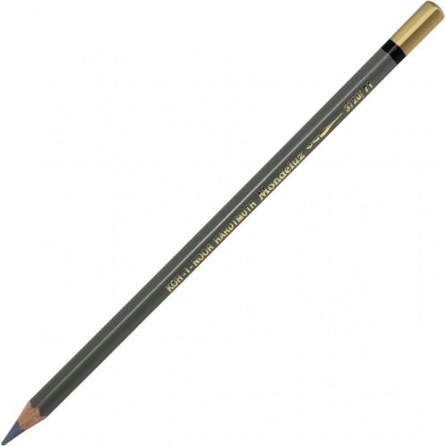 Олівець кольоровий акварельний Koh-i-noor Mondeluz meadow grey/середній сірий 3720/71