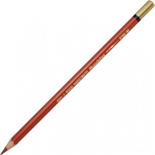 Олівець кольоровий акварельний Koh-i-noor Mondeluz reddish brown/червоний-коричневий №3720/30