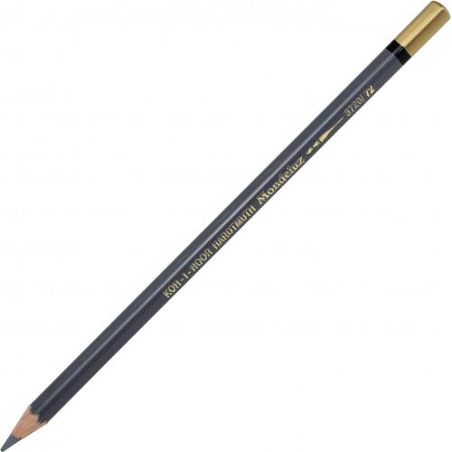 Олівець кольоровий акварельний Koh-i-noor Mondeluz slate grey/аспідно-сірий 3720/72