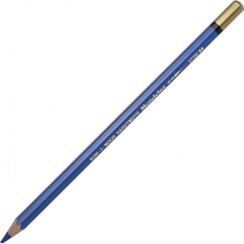 Олівець кольоровий акварельний Koh-i-noor Mondeluz cobalt blue dark/темний кобальт №3720/54
