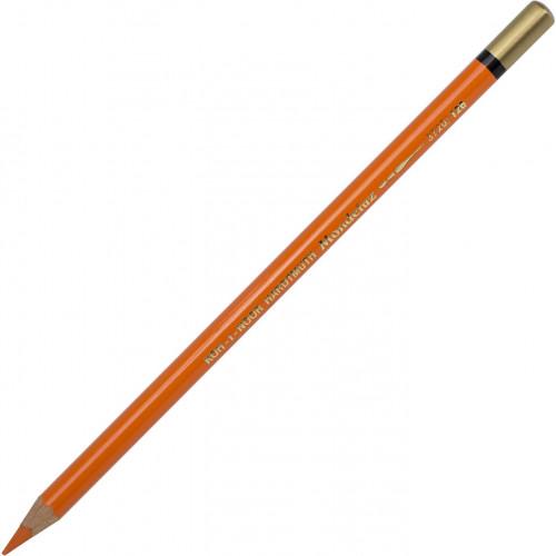 Олівець кольоровий акварельний Koh-i-noor Mondeluz persian orange/перський помаранчевий №3720/126
