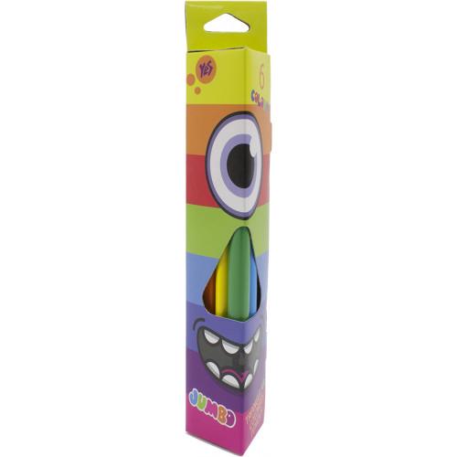 Олівці кольорові 6 кольорів 1 Вересня Jumbo 290368