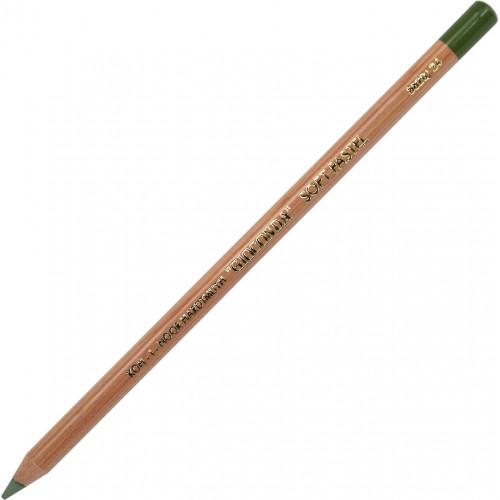 Олівець-пастель Koh-i-noor GIOCONDA olive green dark/оливково темно-зелений (12) 8820/24