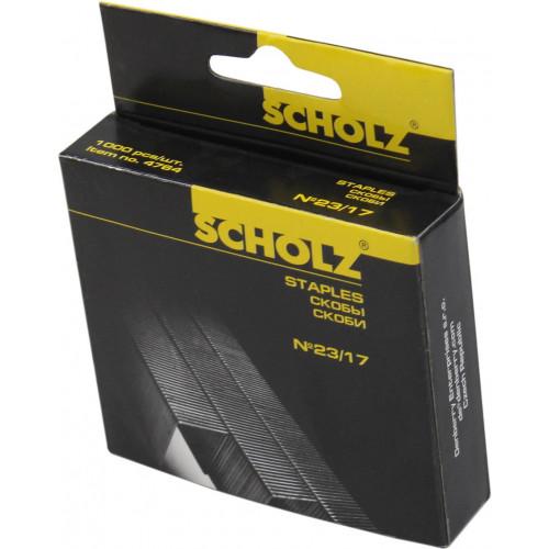 Скоби для степлера Scholz 23/17 1000 шт. 4764/04030090