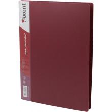 Папка-усы Axent А4 бордовая (1) (20) (60) №1304-04