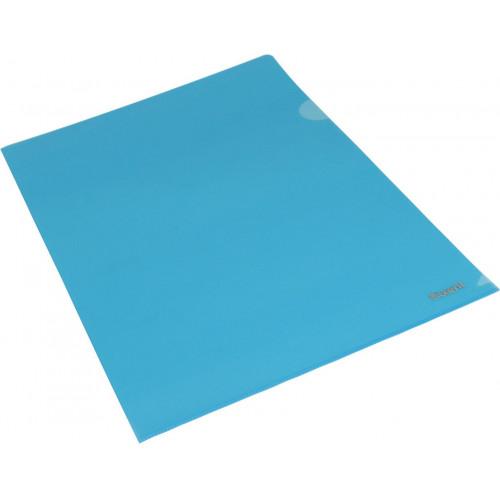 Папка-куточок Axent А4 синя (10) 1434-22-А