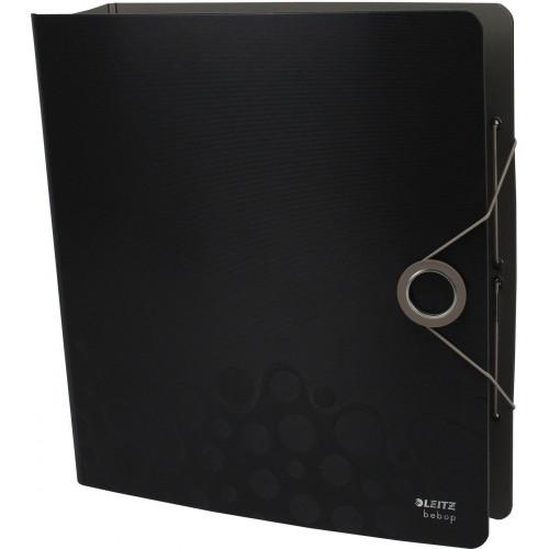 Папка-реєстратор Leitz Active Bebop А4 7,5см 180° поліпропілен чорна №10470095