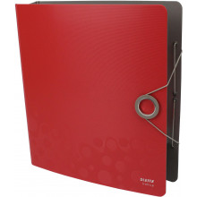 Папка-регистратор Leitz Active Bebop А4 5см 180° полипропилен красная №10480025
