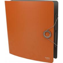 Папка-регистратор Leitz Active Bebop А4 5см 180° полипропилен оранжевая №10480045