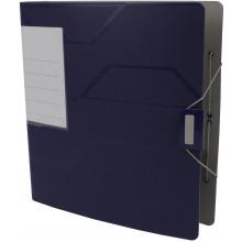 Папка-регистратор Leitz Active Prestige А4 5см 180° полипропилен синяя №10270035