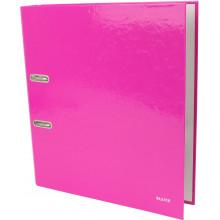 Папка-регистратор Leitz WOW А4 5см 180° розовый металлик №10060023