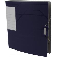 Папка-регистратор Leitz Active Prestige А4 7,5см 180° полипропилен синяя №10260035