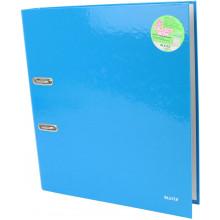 Папка-регистратор Leitz WOW А4 5см 180° синий металлик №10060036