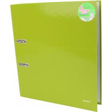 Папка-регистратор Leitz WOW А4 5см 180° зеленый металлик №10060064
