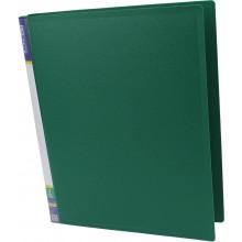 Папка на 2-х кільцях Economix А4 d-25мм зелена (1) (10) E30701-04