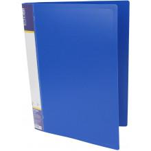 Папка с зажимом Economix А4 CLIP B синяя (1) (20) №E31202-02