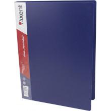 Папка с зажимом Axent А4 синяя (1) (10) №1301-02