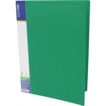 Папка с зажимом Economix А4 CLIP B зеленая (1) (20) №E31202-04