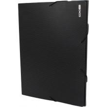 Папка-бокс Economix А4 20мм пластиковая на резинке черная (1) (20) №E31401-01