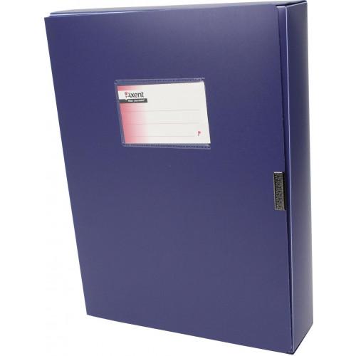 Папка-бокс Axent 1760-02 А4 60мм синя