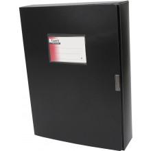 Папка-бокс Axent А4 60мм черная (1) (9) (36) №1760-01