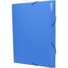 Папка-бокс Economix А4 20мм пластиковая на резинке синяя (1) (20) №E31401-02