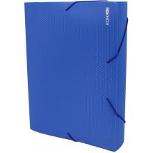 Папка-бокс Economix А4 60мм пластиковая на резинке синяя (1) (20) №E31405-02