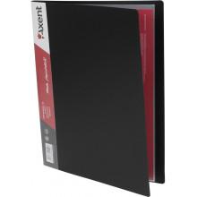 Папка с 10-ю файлами Axent черная №1010-01