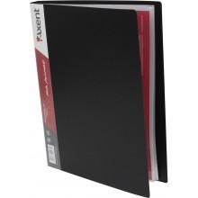 Папка с 40-ка файлами Axent черная (12) №1040-01