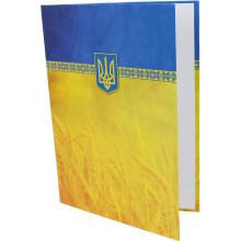 Папка К подписи Economix А4 желто-голубая (40) №E30901-05