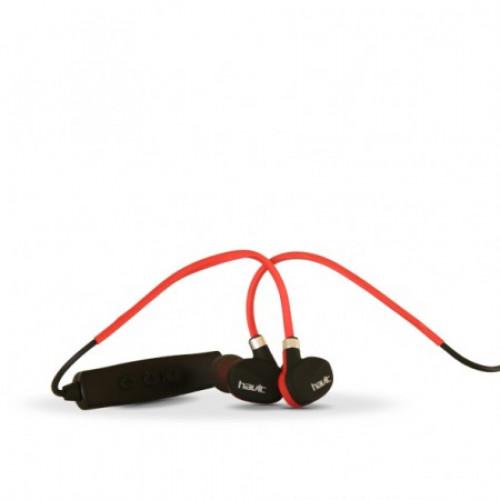 Наушники вакуумные Havit HV-951 BT беспроводные bluetooth black/red, микрофон