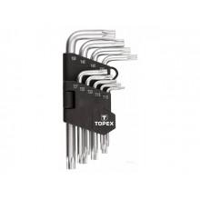 Набор ключей 9 шт Torx 6-гранный T10-T50 №35D960