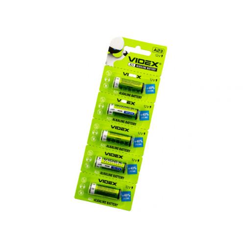 Батарейка VidexA23/E23A/5mbl (5) (50) (500)