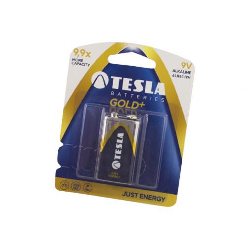 Батарейка TESLA Gold Алкалайн 9V 6LR61/1bl (12)