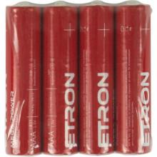Батарейки Etron Mega Power LR-03-40 S / пленка 4 шт (10)
