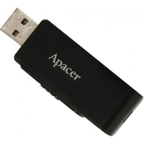 Флеш-память 32GB Apacer AH350 USB3.1 black