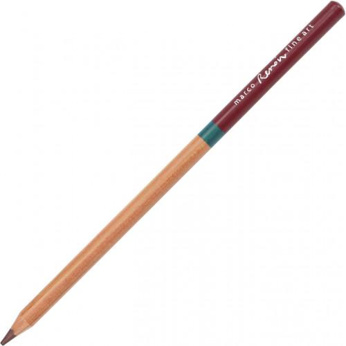 Олівець кольоровий Marco Fine Art 3120/43 акварельний dark brown кедр (12)
