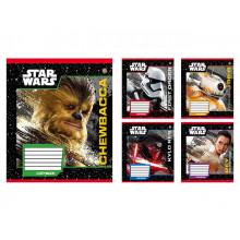 Зошит 12 аркушів лінія ЗУ Star wars heroes-17 (25) (500) 795069