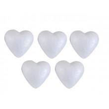 Заготовка пенопласт Santi Сердце 85мм (5) №740616