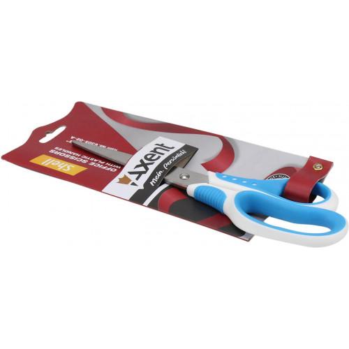 Ножиці офісні Axent 20 см Shell біло-блакитні (10) (100) №6305-02