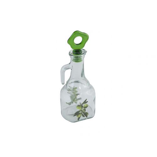 Бутылка для масла стекло Herevin Milas Dec 275 мл (18) (20) №05860