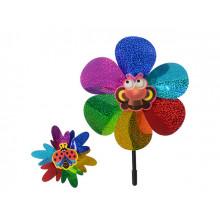 Вітрячок Вертушка M0801 23х23см 5 видів в кульку