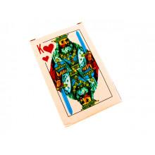 Карти гральні з лаковим покриттям Король 54 (10) (100)