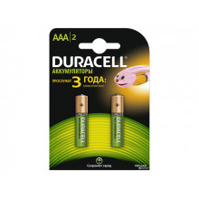Акумулятор Duracell Ni-Mh (HR-03,750mAh)/2bl