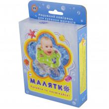 Коло для купання дітей в коробці на липучці, на застібці, 4 кольори, 21 х14х4см. (100) MS0128