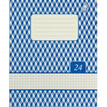 Тетрадь 24 листа клеточка Жемчужина Тетрада фоновая обложка (20) (480)